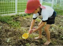 福島ひまわり里親プロジェクト ブログ-白馬幼稚園