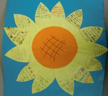 福島ひまわり里親プロジェクト ブログ-普天間中学校