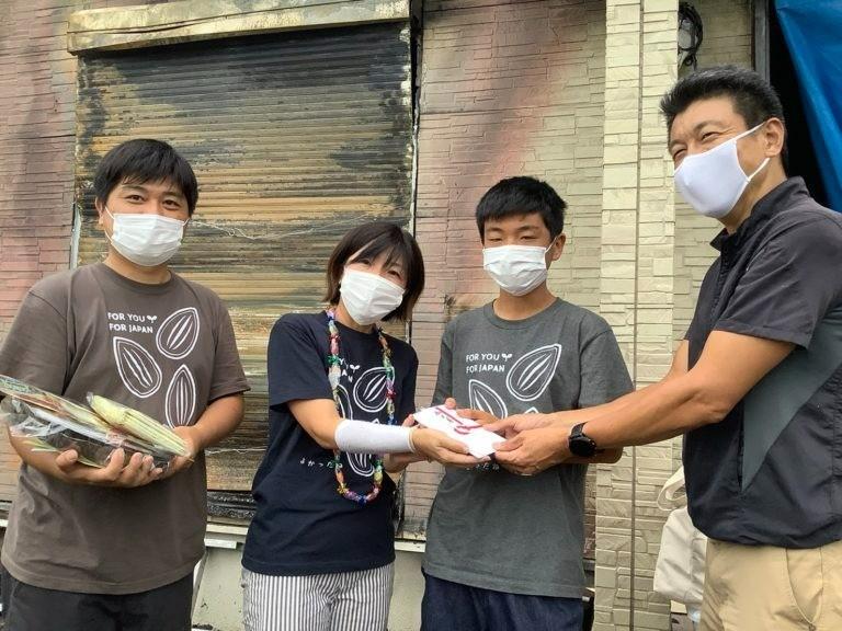 岡山県の里親さん お見舞募金のご報告